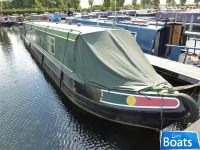 SM 9128 Jenny Wren - M & N Narrowboats Cruiser Stern NB