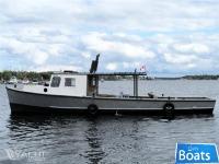 Custom built 40' Steel Trap Net Boat/Work Boat