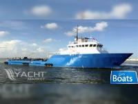 Custom built 2013 146' x 36' x 12' Aluminum Mini Supply/Crew Boat