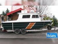 Monark 1986 22' x 8' Aluminum Monark Work Boat