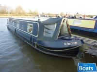 Liberator - 40ft Cruiser Stern narrowboat for sale Cruiser Stern Narrowboat