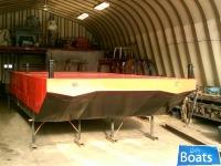 Custom Built 2014 25' x 10' x 3' Steel Displacement Barge