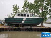 Kanter 1990 42' x 14' x 4' Aluinum Kanter Built Crew/Work/Dive/Patrol Boat