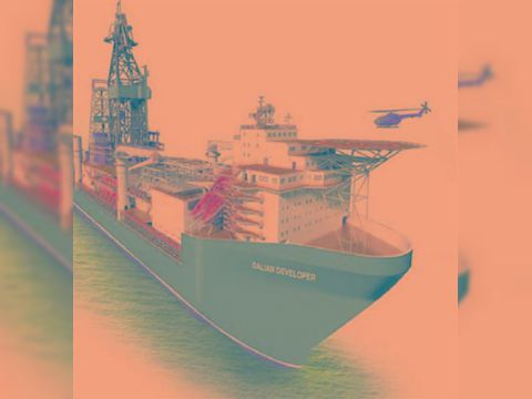 Jack up rig Deep water drill ship