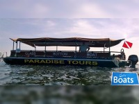 Commercial Tour Boat Glass Bottom Boat
