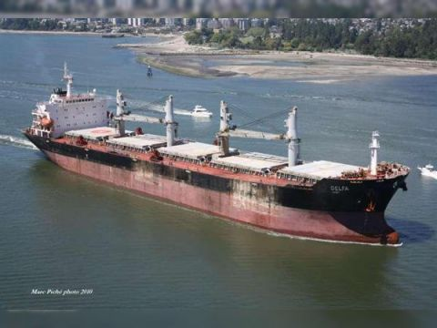 Cargo geared bulkcarrier built China