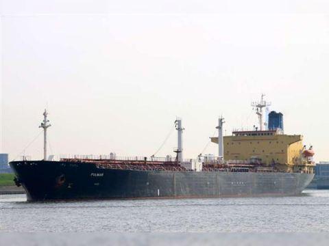 Tanker built in Japan