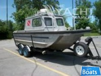 Custom Built 22' Heavy Duty Aluminum Dive/Work Boat