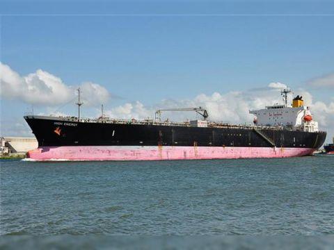 Tanker chemical oil built Japan