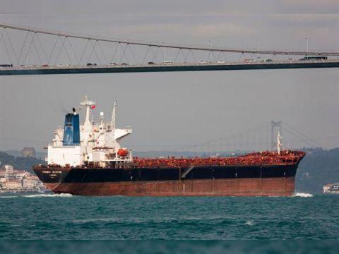Cargo Panamax gearless bulkcarrier