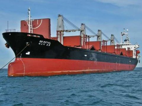 Cargo Handy BC built Japan