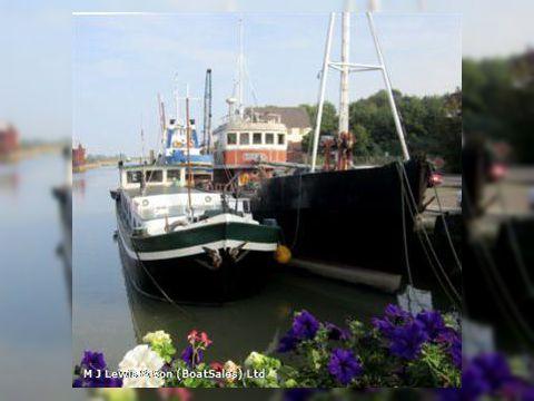 Steel motor vessel,conversion project,live aboar