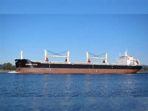 Cargo built by Dalian cosco