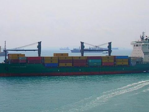 Container Geared cellular built Germany