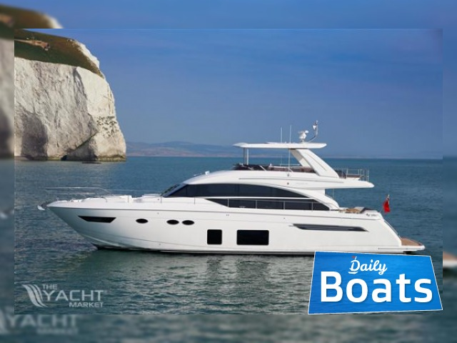 Princess flybridge 68 motor yacht for sale daily boats for Small motor boat cost