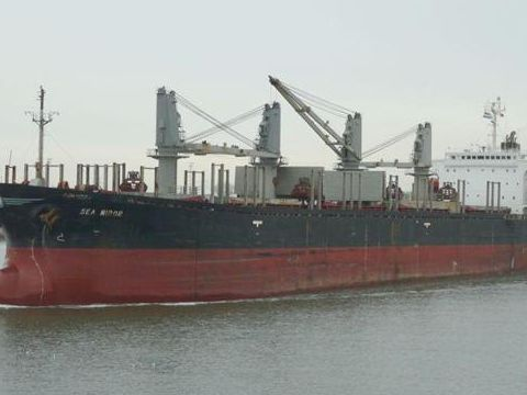 Cargo geared BC/Logger built Japan