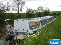 SM 9190 Justus is a 57ft 6in trad stern narrowboat Trad Stern