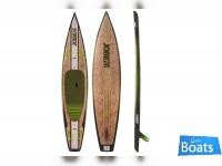 Jobe Bamboo Stand Up Paddleboard - Angara 12.6
