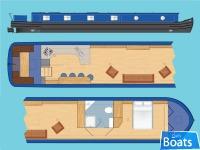 Wide Beam Narrowboat Tingdene Colecraft 66 x1004