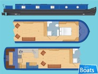 Wide Beam Narrowboat Tingdene Colecraft 60 x 1206