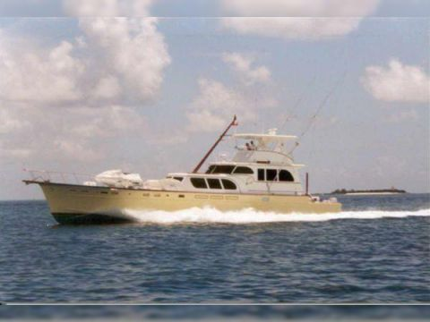 Huckins Cockpit Motor Yacht
