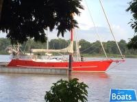 Custom steel bluewater cruiser