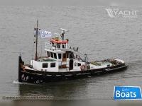 Push-tow boat Tug