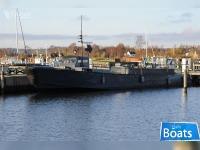 Militær båd / Husbåd