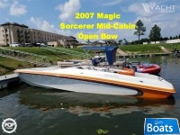 Magic Sorcerer Mid Cabin Open Bow