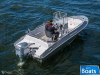 Silver AluFibre Boats - Aluminium Hawk Center Console