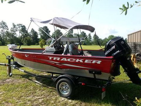 Bass tracker 16 for sale daily boats buy review for Buy bass boat without motor