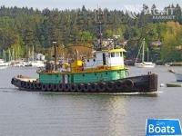Steel Bushey Navy Tug