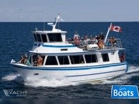 Custom Built 1978/2000 14.39m x 4.82m x 1.71m Aluminum 46 PAX,Twin Screw,Double Deck Passenger Boat