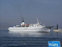 Classic Small Cruise Ship,300 Passengers -Stock No. S2133