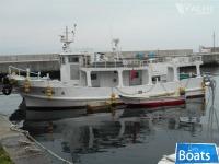 Custom Built 1981 11.95m x 3.70m x 1.32m 14.26 GRT FRP Passenger/Cargo Vessel