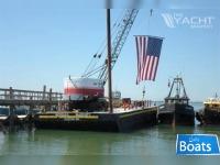 Custom Built 1962 90 x 30 Steel Deck Barge