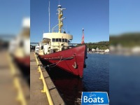 Russel Bros 1960 127 x 28 x 10 Steel EX CCG Converted Vessel/Liveaboard