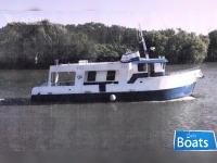 Custom Built 2003 57 x 18 x 6.5 Steel C ustom Built Trawler/ Live Aboard