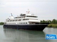 Small Cruise Ship,130 Passengers - Stock No. S2285 -Can Operate Between US Ports - BRING OFFERS