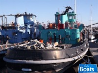 Marinette Marine Corp 1974 109 x 20 Ex Navy 2000hp Single Screw Harbor Tug