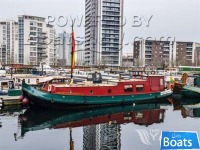 Dutch Barge 15m with London mooring