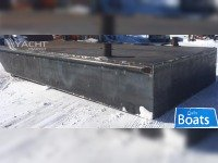 New 10 x 246 x 3 Steel Barge 1/4 Construction