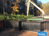 (4) Sectional Barges 20 x 8 x 4
