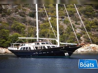 Kanelos Shipyard Staysail Schooner