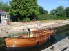 Classic Sailing Boat Iris