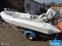 Zodiac Yachtline 420 - Honda 40hp and Trailer