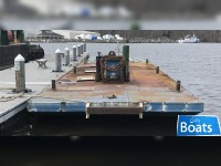 40 x 14 x 3 Truckable Work Barge