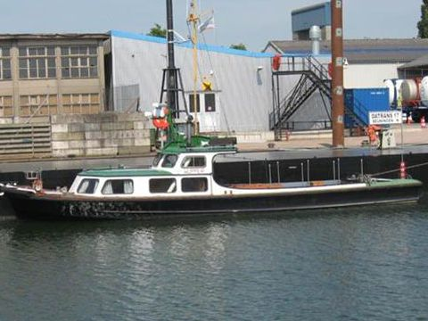 Ex Patrol boat Towing boat,commercial and leasure