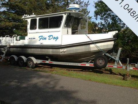 Aluminum Chambered Boats 2800 RV