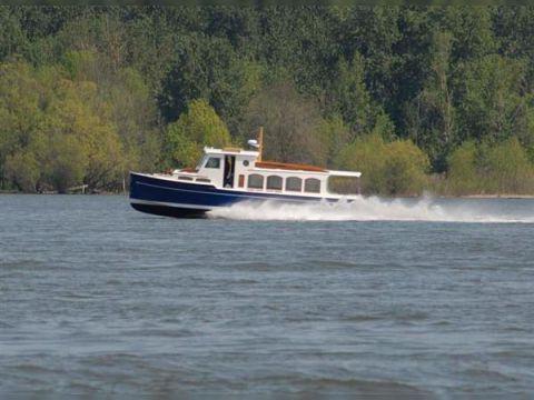 Schooner Creed Boat Works Flush Deck Passenger Launch